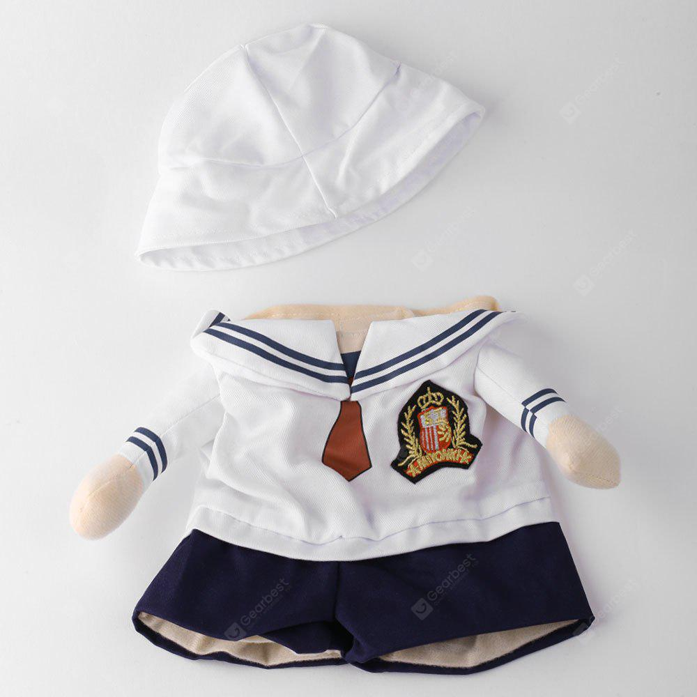 Navy Costume Pet Dog Cat Cosplay Change Party Clothes