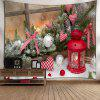 Christmas Candle Ball Heart Wall Tapestry - COLORMIX