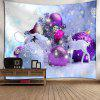 Christmas Ball Deer Print Wall Tapestry - COLORMIX