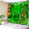 Wall Art Christmas Tree Ball Tapestry - GREEN