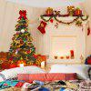 3D Christmas Printed Wall Hanging Tapestry - COLORFUL