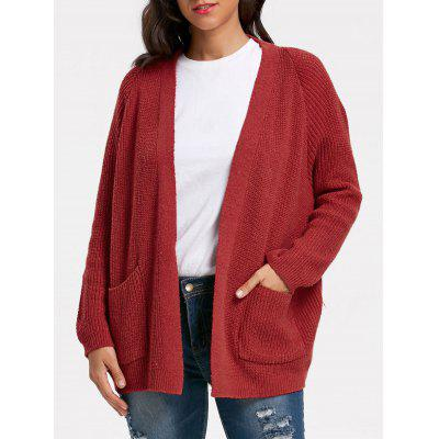 Pockets Sweater Cardigan
