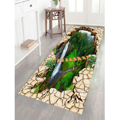 Buy GREEN Scenery Printed Multifunction Stick-on Wall Art Painting for $19.83 in GearBest store
