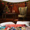 Christmas Decorations Patterned Wall Art Hanging Tapestry - COLORFUL