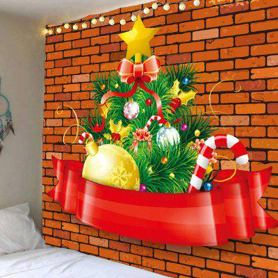 Christmas Gifts Patterned Waterproof Wall Art Tapestry