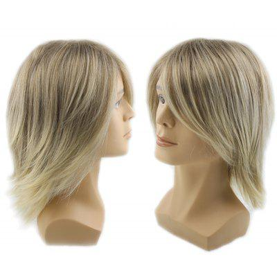 Adiors Short Side Bang Colormix Straight Men Synthetic Wig