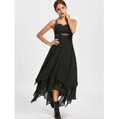 Lace Up Backless Asymmetric Club DressWomens Dresses<br>Lace Up Backless Asymmetric Club Dress<br><br>Dresses Length: Ankle-Length<br>Material: Polyester<br>Neckline: Sweetheart Neck<br>Occasion: Night Out, Club<br>Package Contents: 1 x Dress<br>Pattern Type: Solid<br>Season: Fall, Spring, Summer<br>Silhouette: Asymmetrical<br>Sleeve Length: Sleeveless<br>Style: Sexy &amp; Club<br>Weight: 0.4400kg<br>With Belt: No