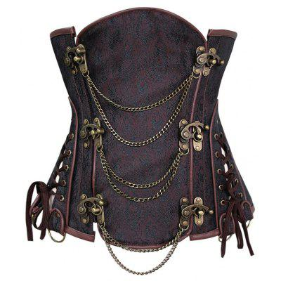 Steampunk Corset with Chains