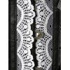 Steel Boned Corset Top with Lace - BLACK