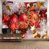 Waterproof Christmas Glittering Ball Pattern Wall Hanging Tapestry - COLORFUL
