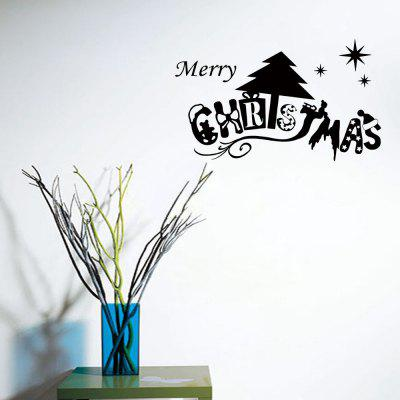 Merry Christmas Wall Art Sticker For Living Room