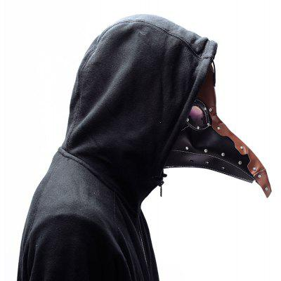Halloween klassische Steampunk Pest Doctor Black Crow Maske