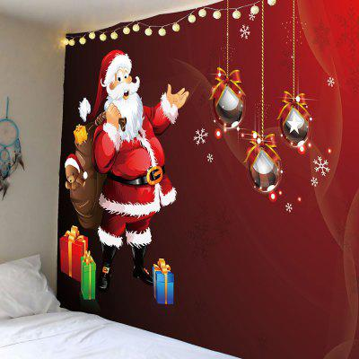 Santa Claus Gift Pattern Wall Hanging Tapestry