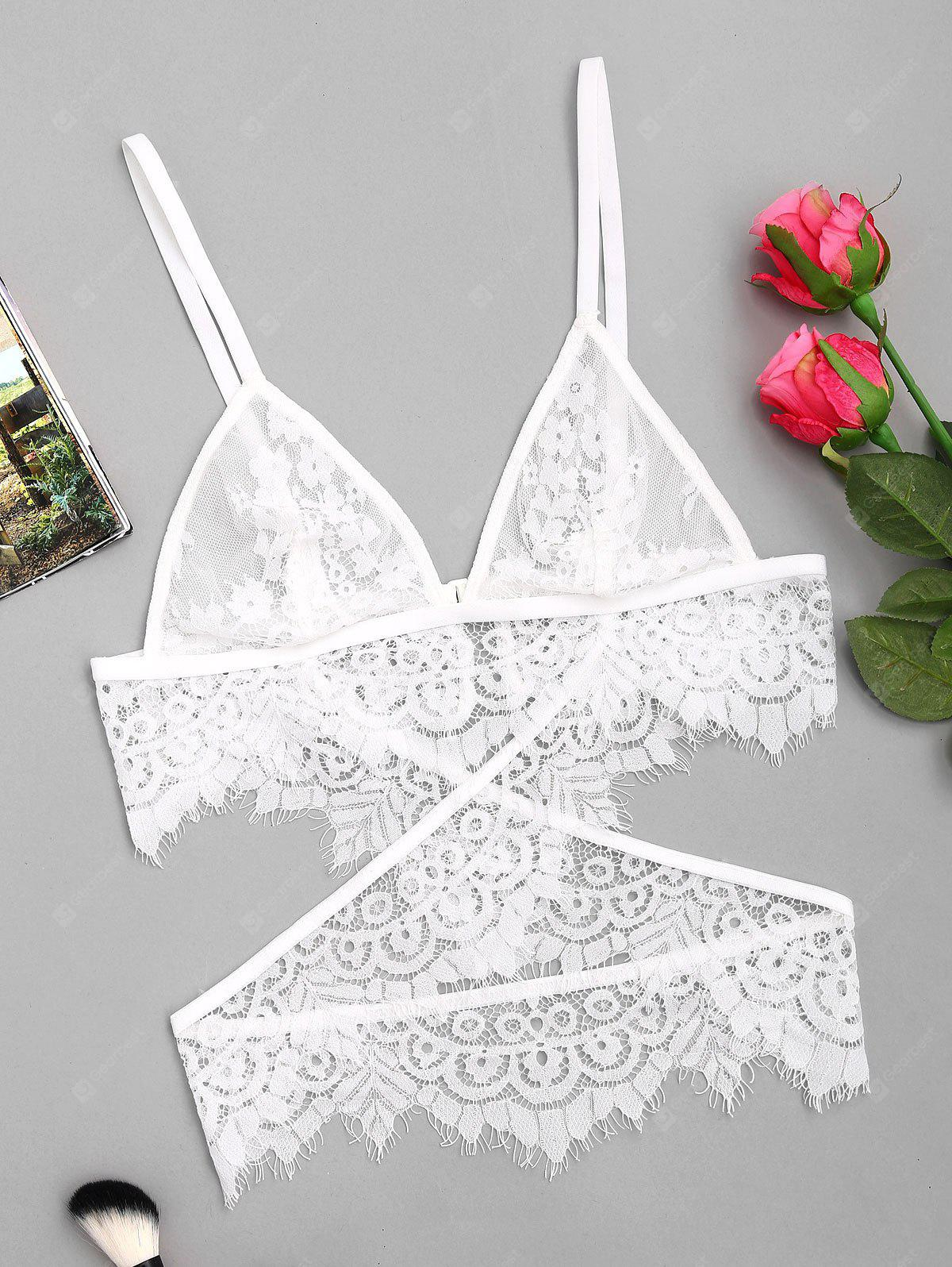 Crossover Lace Bralette