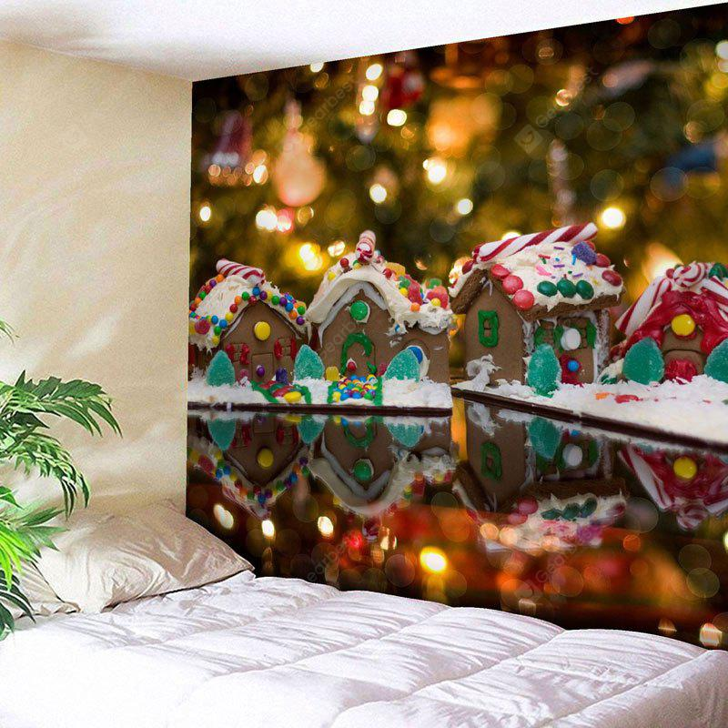 Christmas Chocolate House Wall Tapestry