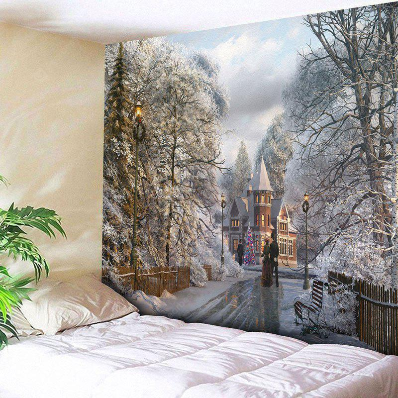 Christmas Graphic Wall Decor Tapestry