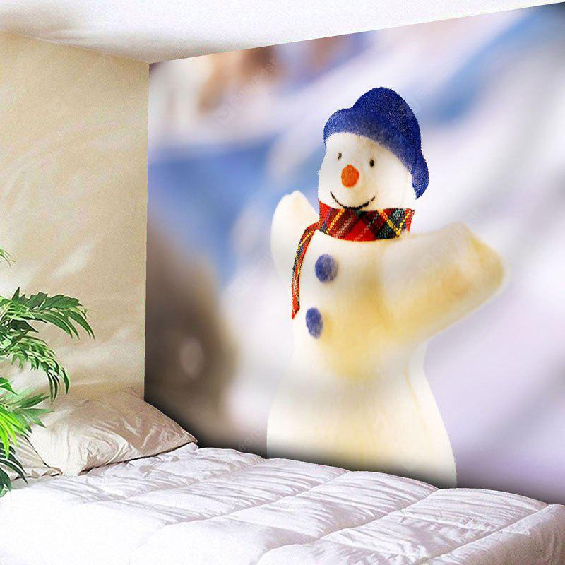 Wall Decor Christmas Snowman Tapestry