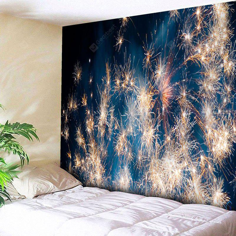 Wall Decor Christmas Fireworks Tapestry