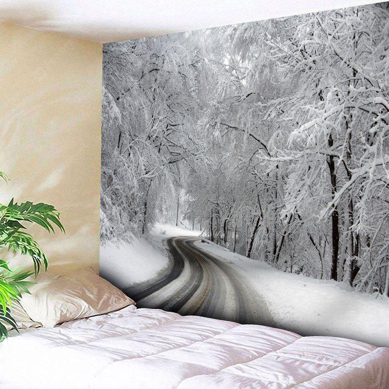 Snowscape Print Wall Decor Tapestry