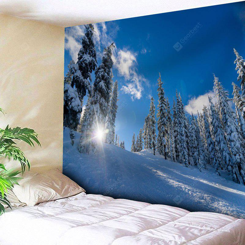 Wall Art Snowscape Print Tapestry
