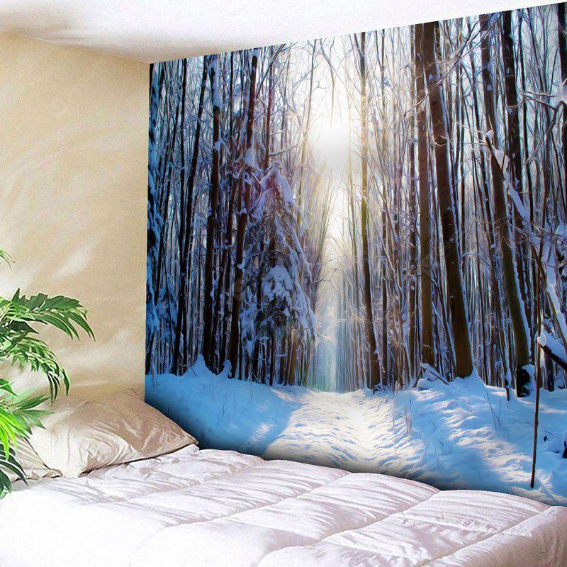 Wall Decor Snowscape Print Tapestry