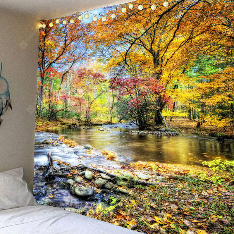 Brook Grove Pattern Waterproof Wall Hanging Tapestry