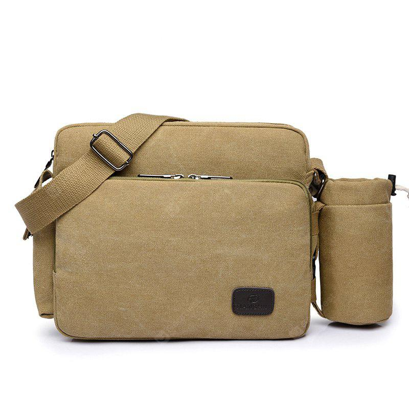 Multi Function Canvas Crossbody Bag