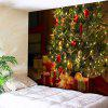 Wall Decor Christmas Tree Gift Tapestry - GREEN
