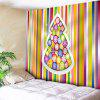 Christmas Tree Striped Wall Tapestry - STRIPE