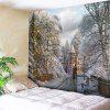 Christmas Graphic Wall Decor Tapestry - COLORMIX