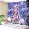 Christmas Tree Snowflake Wall Tapestry - LARKSPUR