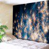 Wall Decor Christmas Fireworks Tapestry - BLUE