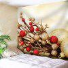 Christmas Printed Wall Art Tapestry - LIGHT YELLOW