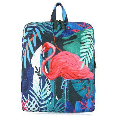 Buy RED Print Animal Leaves Backpack for $22.87 in GearBest store