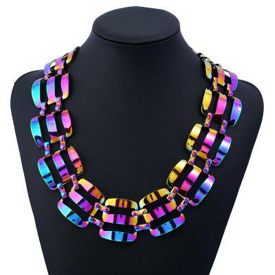 Chunky Alloy Statement Necklace