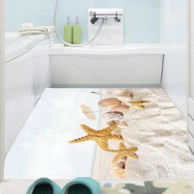 Buy COLORMIX Starfish Beach Pattern Multifunction Removable Wall Sticker for $11.57 in GearBest store