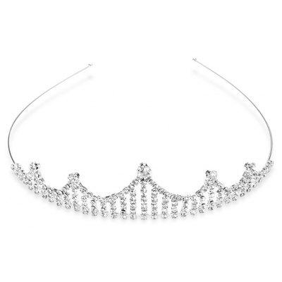 Graceful Rhinestone Hollow Out Crown For Women