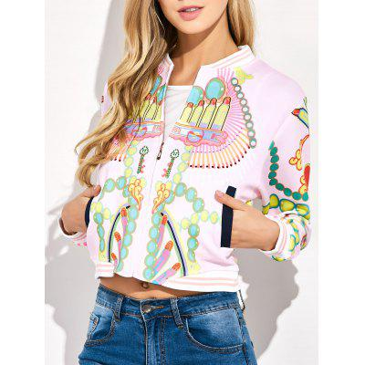 Rossetto 3D Jacket Stampa Bomber