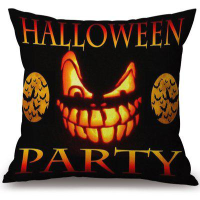 Buy COLORMIX Soft Happy Halloween Party Printed Decorative Pillow Case for $3.97 in GearBest store