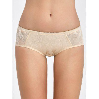 Padded Lace Insert Briefs