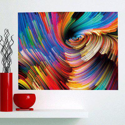 Colorful Space Patterned Removable Multifunction Wall Art Painting