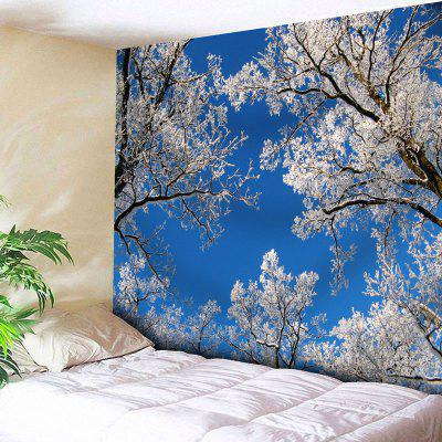 Sky Tree Branch Wall Hanging Tapestry
