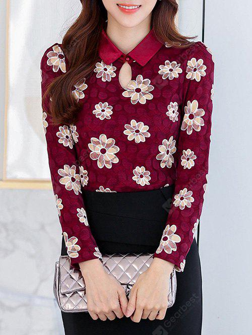 WINE RED, Apparel, Women's Clothing, Blouses