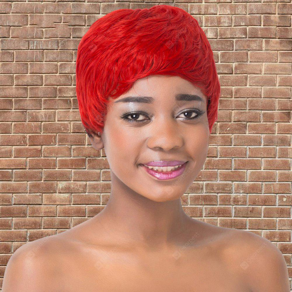 RED WITH BLACK, Health & Beauty, Hair Extensions & Wigs, Synthetic Wigs