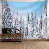 Snowscape Printed Wall Decor Tapestry - CLOUDY
