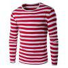 Buy RED, Apparel, Men's Clothing, Men's T-shirts, Men's Long Sleeves Tees for $14.65 in GearBest store