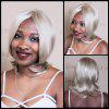 Mixed Color Medium Centre Parting Straight Synthetic Wig - COLORMIX
