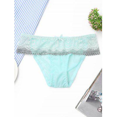 Lace Mesh Sheer Panties
