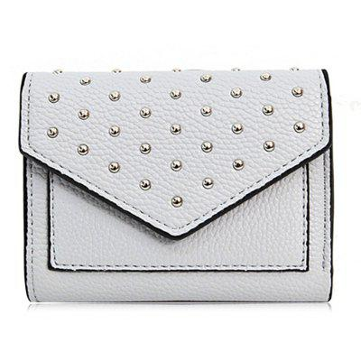 Rivets Geometric Triangle Wallet