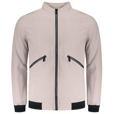 Mens Zipper Pocket Jacket